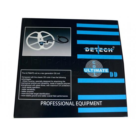 DETECH 13 Ultimate DD Search Coil For Minelab Explorer, E-Trac, Quattro & Safari Metal Detectors | Detech | 13 Ultimate DD