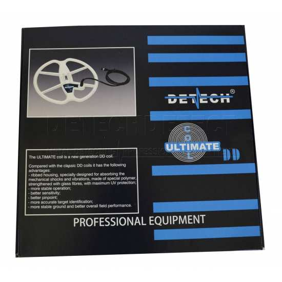 DETECH 13 Ultimate DD Search Coil For XP GoldMaxx Power 18KHz Metal Detector