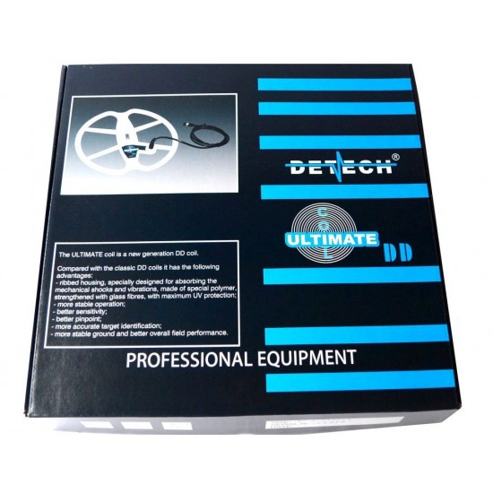 DETECH 15 Ultimate DD Search Coil For Garrett AT Pro AT Gold And AT Max Metal Detector