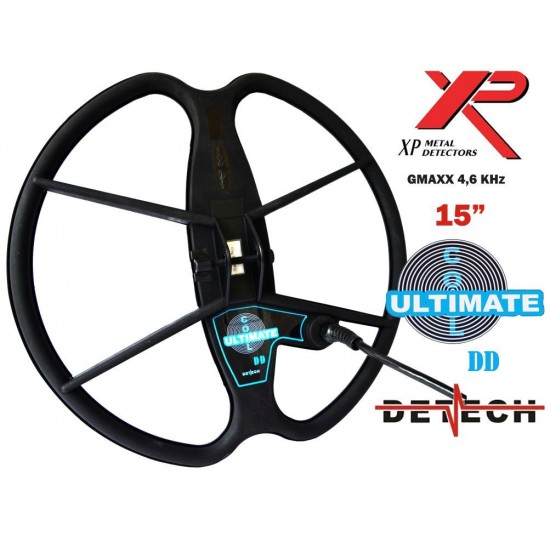 DETECH 15 DD Search Coil For XP GMAXX ADX 4,6 KHZ Metal Detector